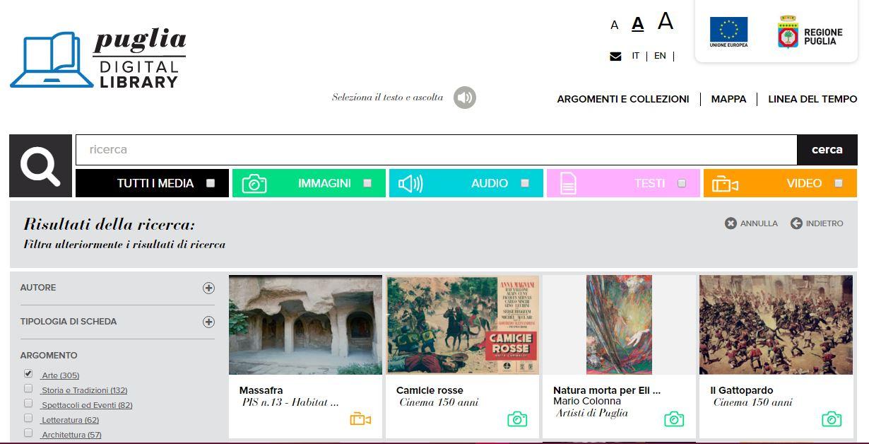 Puglia Digital Library